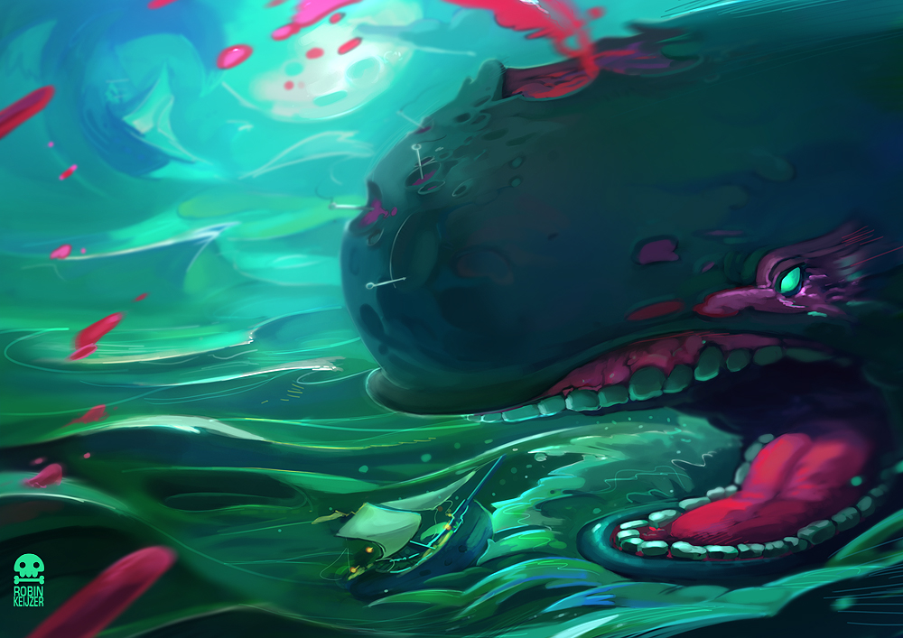 Zombie Whale Contest Winner At